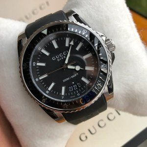 GUCCI PVD SPORT 45MM DIVE WATCH! WITH BOX! NEW!